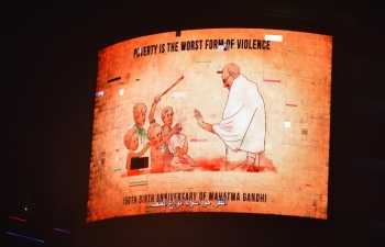 Celebration of 150th Birth Anniversary of Mahatma Gandhi on October 2, 2018
