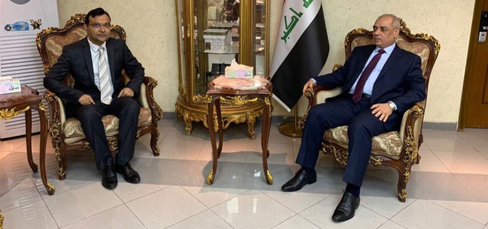Ambassador calls on H.E. Mr Abdullah Luaibi, Minister of Transport of Iraq on December 6, 2018