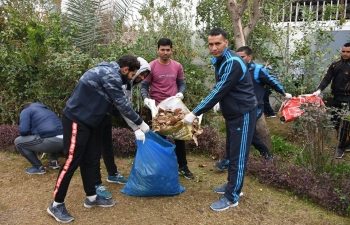 Observance of Swachhata Pakhwada/Diwas by Embassy of India, Baghdad