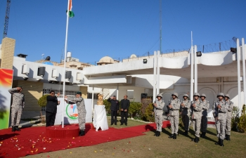 Celebration of 71st Republic Day at Embassy of India, Baghdad on January 27, 2020.