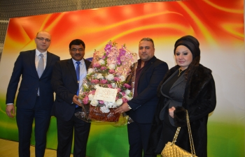 H.E. Birender S. Yadav, Ambassador of India to Iraq hosted Reception on the occasion of 71st Republic Day of India at Al Yarmouk Club, Baghdad which was attended by senior Iraqi officials, members of diplomatic community and friends of India from Iraq from various walks of life.