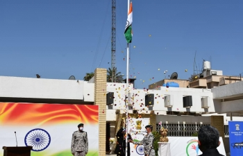 Celebration of 74th Independence Day of India at Embassy premises on 15 August, 2020