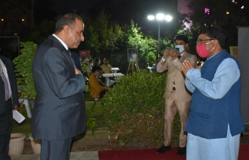 Celebration of 151st Birth anniversary of Mahatma Gandhi at Embassy of India, Baghdad on October 02, 2020