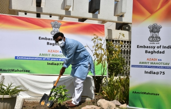 Celebration of World Enviornment Day 2021 in the Embassy of India, Baghdad
